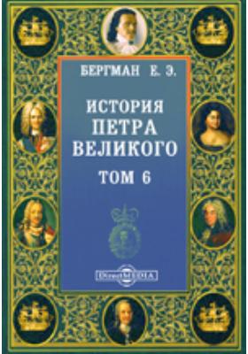 История Петра Великого. Т. 6