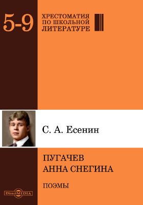 Пугачев. Анна Cнегина: художественная литература