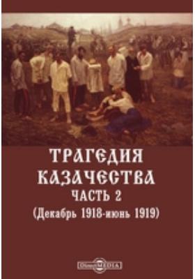 Трагедия казачества. (Декабрь 1918-июнь 1919), Ч. 2