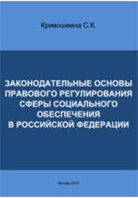Законодательные основы правового регулирования сферы социального обеспечения в Российской Федерации: монография