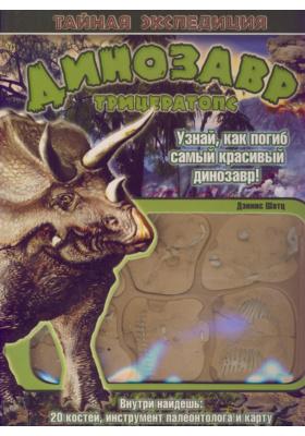 Динозавр трицераптопс = Fossil Detective: Triceratops