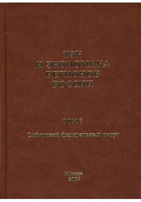 ТЭК и экономика регионов России. Том 6. Сибирский федеральный округ