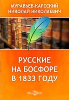 Русские на Босфоре в 1833 году: документально-художественная литература