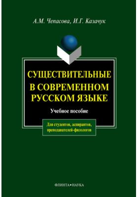 Существительные в современном русском языке: учебное пособие
