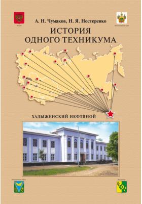 История одного техникума : Хадыженский нефтяной