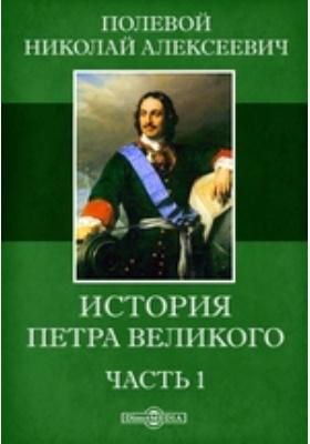 История Петра Великого, Ч. 1