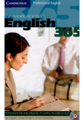 English 365 for Work and Life. Personal Study Book 3 with Audio CD : 5th printing