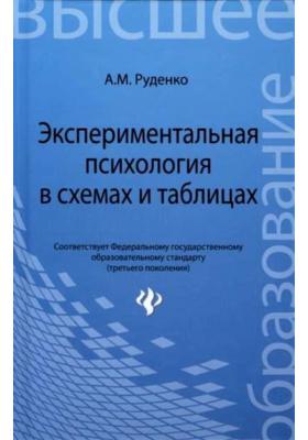Экспериментальная психология в схемах и таблицах : Учебное пособие