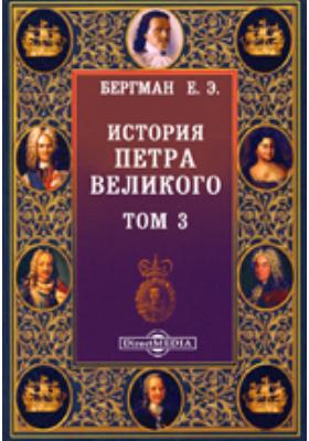 История Петра Великого. Т. 3