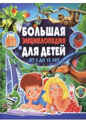 Большая энциклопедия для детей от 6 до 12 лет