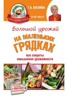 Большой урожай на маленьких грядках: все секреты повышения урожайности = Огород по-русски: мало сажаем - много собираем = Чудо-грядки: не копаем, а урожай собираем