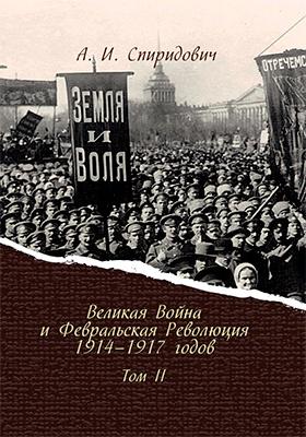 Великая Война и Февральская Революция 1914–1917 годов: научно-популярное издание. Т. 2