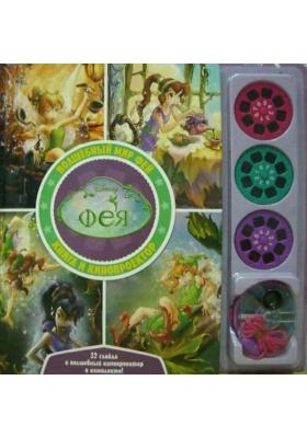 Волшебный мир фей. Книга и кинопроектор = The Fairies of Never Land. Magic Viewer Book