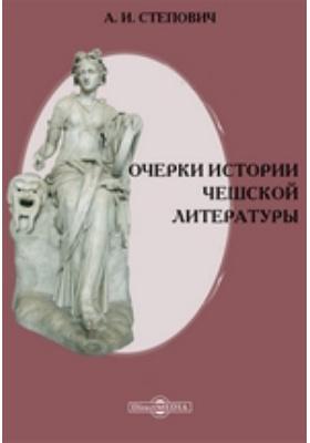 Очерки истории чешской литературы: монография