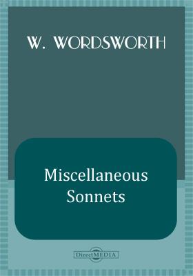 Miscellaneous Sonnets