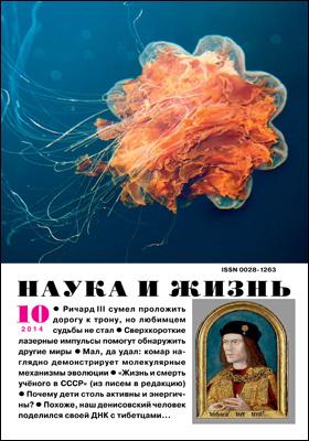 Наука и жизнь: ежемесячный научно-популярный журнал. 2014. № 10