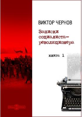 Записки социалиста-революционера: документально-художественная литература. Кн. 1