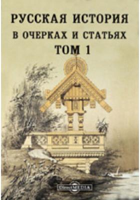 Русская история в очерках и статьях. Т. 1