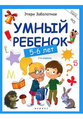 Умный ребенок. 5-6 лет : 2-е издание