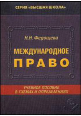 Международное право в схемах и определениях: учебное пособие