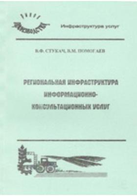 Региональная инфраструктура информационно-консультационных услуг