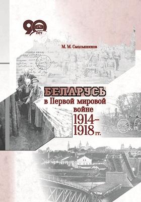 Беларусь в Первой мировой войне 1914–1918 гг.: монография