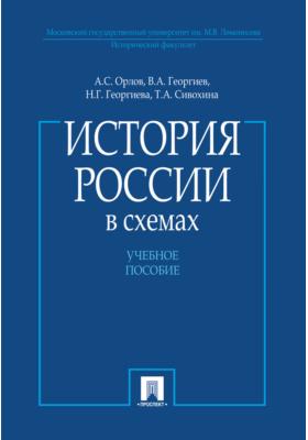 История России в схемах: учебное пособие