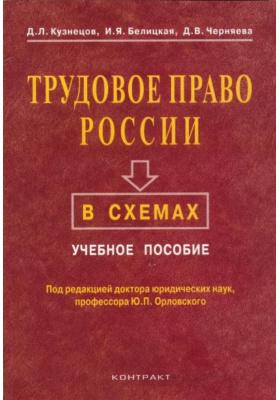 Трудовое право России в схемах : Учебное пособие