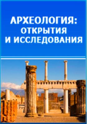 Археология России. Каменный период: монография. Т. 1