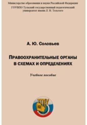 Правоохранительные органы в схемах и определениях: учебное пособие