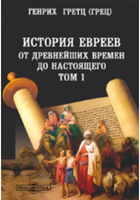 История евреев от древнейших времен до настоящего. Т. 1