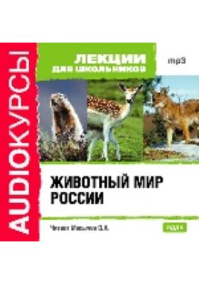 Лекции для школьников. Животный мир России