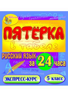 Пятёрка в табеле. Русский язык за 24 часа. 5 класс
