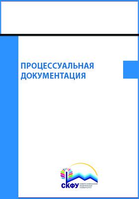 Процессуальная документация: практикум