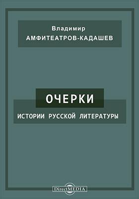 Очерки истории русской литературы