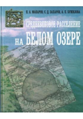 Средневековое расселение на Белом озере: монография