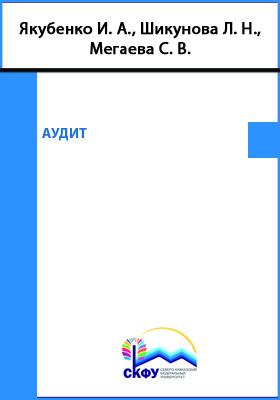 Аудит: учебное пособие