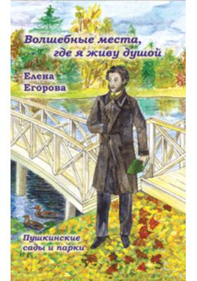«Волшебные места, где я живу душой…» Пушкинские сады и парки