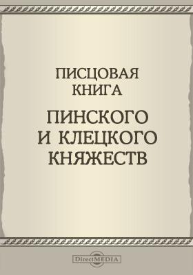 Писцовая книга Пинского и Клецкого княжеств