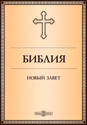 Библия. Новый Завет: духовно-просветительское издание