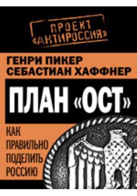 План «Ост». Как правильно поделить Россию