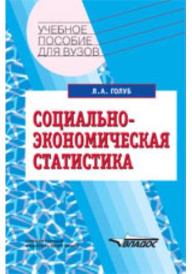 Социально-экономическая статистика: учебное пособие