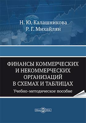 Финансы коммерческих и некоммерческих организаций в схемах и таблицах