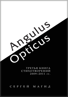 Angulus / Opticus : третья книга стихотворений. 2009– 2011 гг
