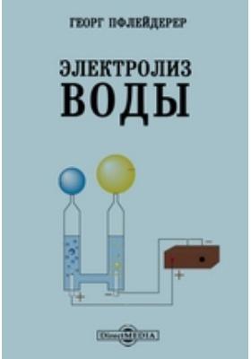 Электролиз воды: монография