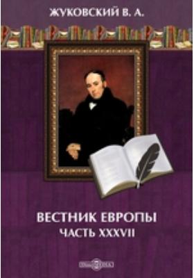 Вестник Европы: журнал. 1808. № 1-4. 1808 г, Январь-февраль, Ч. 37