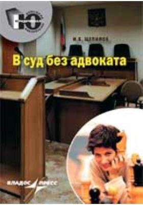 В суд без адвоката