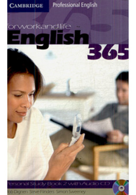 English 365 for Work and Life. Personal Study Book 2 with Audio CD : 6th printing