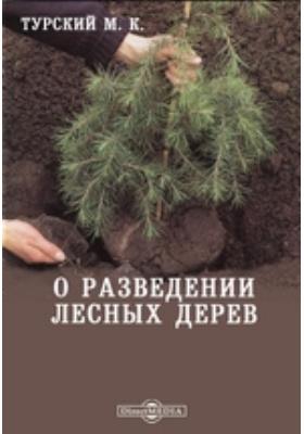 О разведении лесных дерев