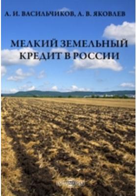 Мелкийземельныйкредитв России